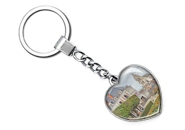 custom France Souvenir Keychain wholesale manufacturer and supplier in China