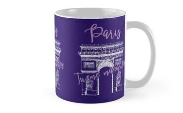 custom France Souvenir Mug wholesale manufacturer and supplier in China