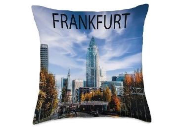 custom Frankfurt Souvenir Cotton Pillow wholesale manufacturer and supplier in China