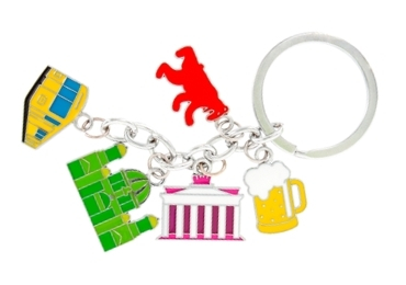 custom Germany Souvenir Acrylic Keychain wholesale manufacturer and supplier in China