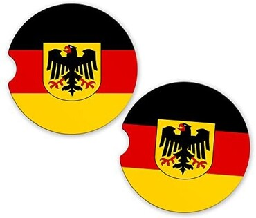 custom Germany Souvenir Coaster wholesale manufacturer and supplier in China