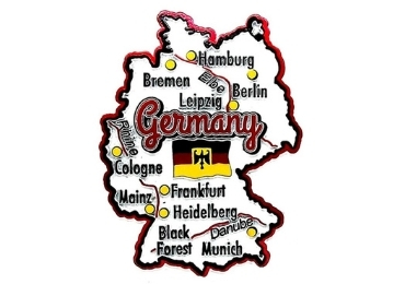 custom Germany Souvenir Fridge Magnet wholesale manufacturer and supplier in China