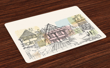 custom Germany Souvenir Placemat wholesale manufacturer and supplier in China