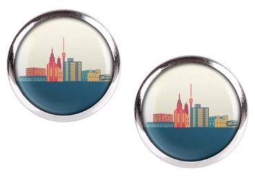 custom Germany Souvenir Stud Earrings wholesale manufacturer and supplier in China