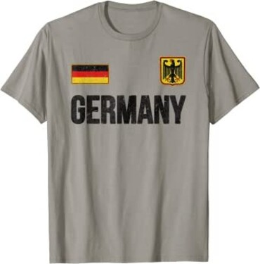 custom Germany Souvenir T-shirt wholesale manufacturer and supplier in China