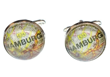 custom Hamburg Souvenir Cufflinks wholesale manufacturer and supplier in China