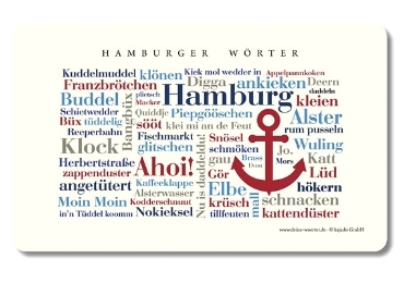 custom Hamburg Souvenir Placemat wholesale manufacturer and supplier in China