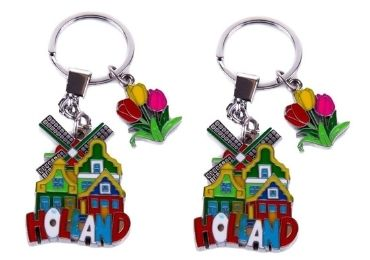 custom Holland Souvenir Metal Keychain wholesale manufacturer and supplier in China