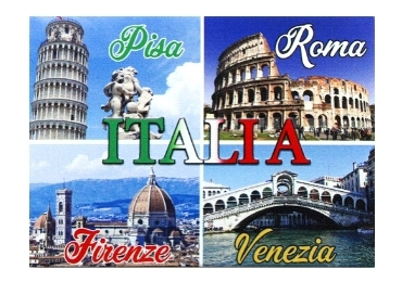 custom Italy Cities Souvenir Magnet wholesale manufacturer and supplier in China