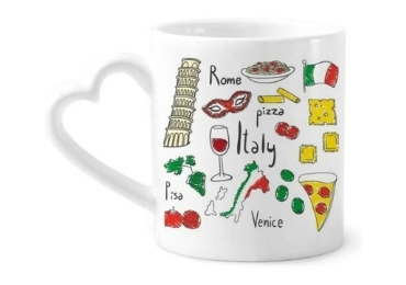 custom Italy Souvenir Ceramic Mug wholesale manufacturer and supplier in China
