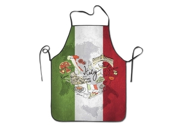 custom Italy Souvenir Cotton Apron wholesale manufacturer and supplier in China