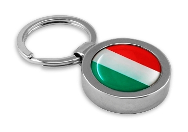 custom Italy Souvenir Enamel Keychain wholesale manufacturer and supplier in China