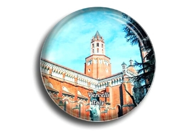 custom Italy Souvenir Glass Magnet wholesale manufacturer and supplier in China