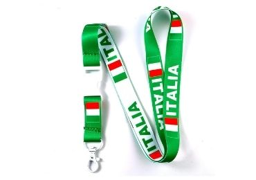 custom Italy Souvenir Lanyard wholesale manufacturer and supplier in China
