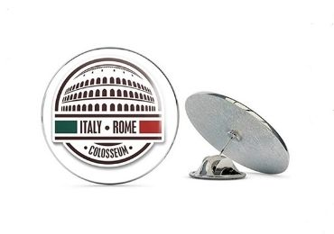 custom Italy Souvenir Lapel Pin wholesale manufacturer and supplier in China