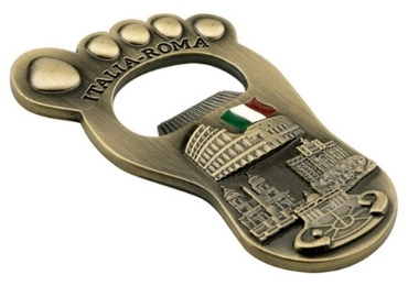 custom Italy Souvenir Metal Opener wholesale manufacturer and supplier in China