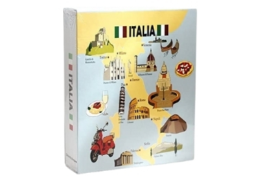 custom Italy Souvenir Photo Album wholesale manufacturer and supplier in China