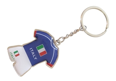 custom Italy Souvenir Rubber Keychain wholesale manufacturer and supplier in China