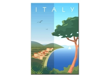 custom Italy Souvenir Wooden Sign wholesale manufacturer and supplier in China
