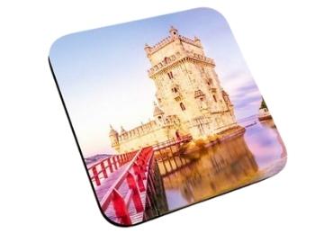 custom Lisbon Belem Souvenir Coaster wholesale manufacturer and supplier in China