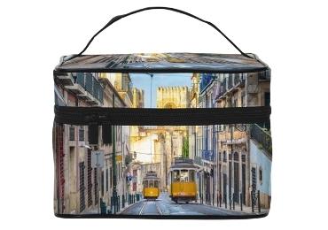 custom Lisbon Souvenir Makeup Bag wholesale manufacturer and supplier in China