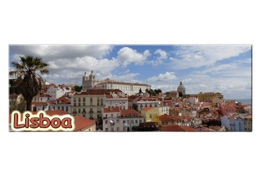 custom Lisbon Souvenir Tinplate Magnet wholesale manufacturer and supplier in China