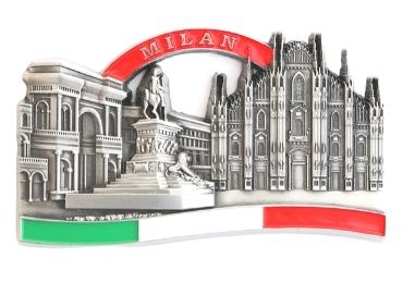 custom Milan Souvenir Enamel Magnet wholesale manufacturer and supplier in China