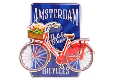 custom Netherlands Souvenir Wooden Magnet wholesale manufacturer and supplier in China