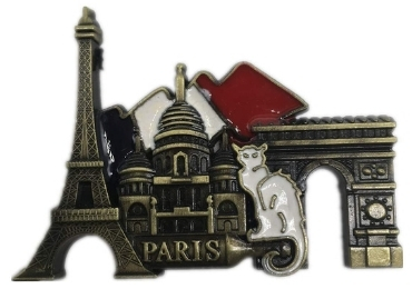 custom Paris Iconic Fridge Magnet wholeale manufacturer and supplier in China