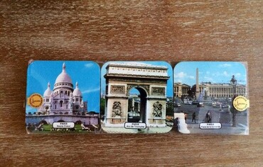 custom Paris Souvenir Coaster wholesale manufacturer and supplier in China