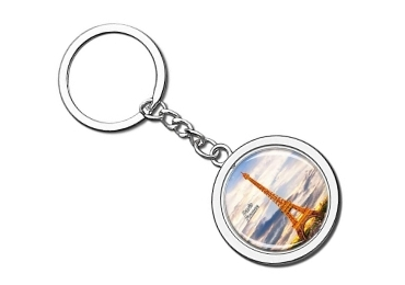 custom Paris Souvenir Keychain wholesale manufacturer and supplier in China