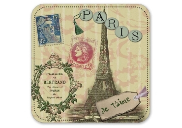 custom Paris Souvenir MDF Coaster wholesale manufacturer and supplier in China