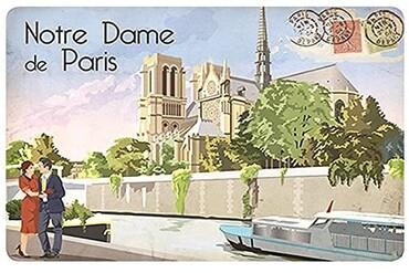 custom Paris Souvenir Placemat wholesale manufacturer and supplier in China