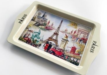 custom Paris Souvenir Tray wholesale manufacturer and supplier in China