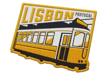 custom Portugal Fabric Souvenir Patch wholesale manufacturer and supplier in China