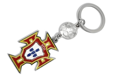 custom Portugal Soccer Federation Metal Keychain wholesale manufacturer and supplier in China