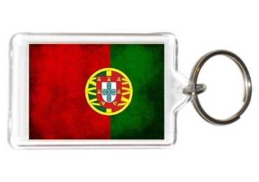custom Portugal Souvenir Acrylic Keychain wholesale manufacturer and supplier in China