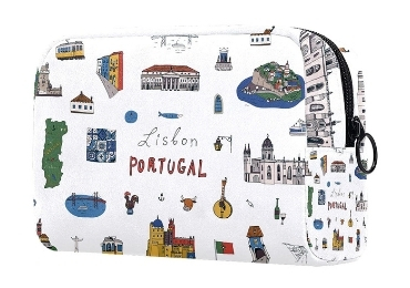 custom Portugal Souvenir Cosmetic Bag wholesale manufacturer and supplier in China
