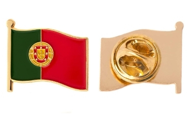 custom Portugal Souvenir Lapel Pin wholesale manufacturer and supplier in China