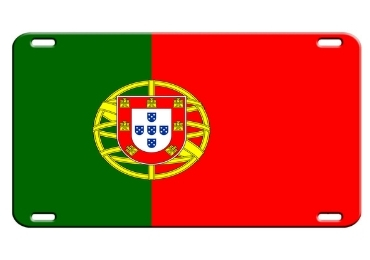 custom Portugal Souvenir License Plate wholesale manufacturer and supplier in China