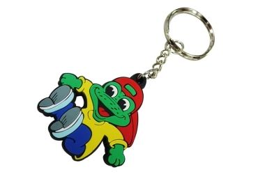 custom Portugal Souvenir Rubber Keychain wholesale manufacturer and supplier in China