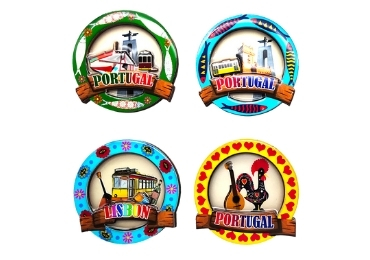 custom Portugal Tourist Magnet Gifts wholesale manufacturer and supplier in China
