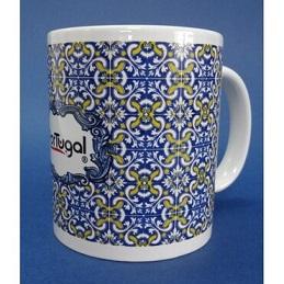 custom Portuguese Souvenir Tile Mug wholesale manufacturer and supplier in China