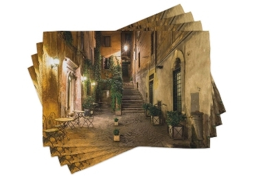 custom Rome Souvenir PlaceMat wholesale manufacturer and supplier in China
