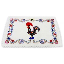 custom Rooster of Barcelos Table Mat wholesale manufacturer and supplier in China