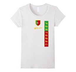 custom Souvenir Portugal T-Shirt wholesale manufacturer and supplier in China