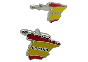 custom Spain Souvenir Cufflinks wholesale manufacturer and supplier in China