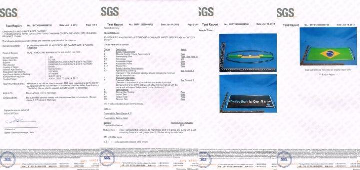 TALMUD BANNER SGS (EU) CERTIFICATE
