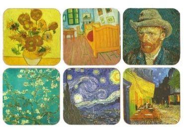 Custom Van Gogh Souvenir Coaster Set wholesale manufacturer and supplier in China