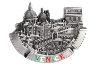 custom Venice Souvenir Metal Magnet wholesale manufacturer and supplier in China